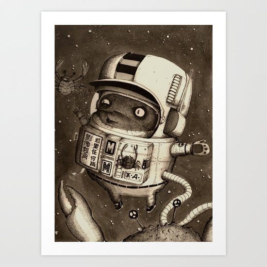 Mighty Manfred Art Print