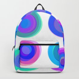Summer Circles Backpack