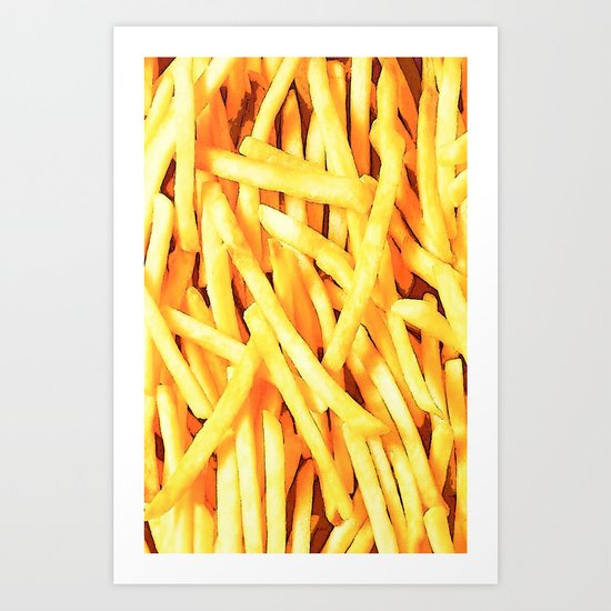 FRENCH FRIES for IPhone Art Print