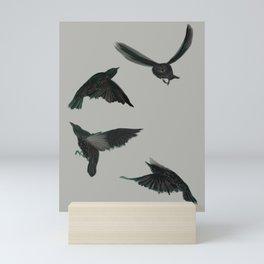 Common Starlings Mini Art Print