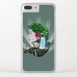 nature beauty Clear iPhone Case