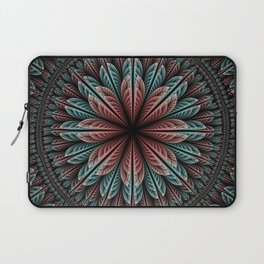 Fantasy flower and petals IV Laptop Sleeve