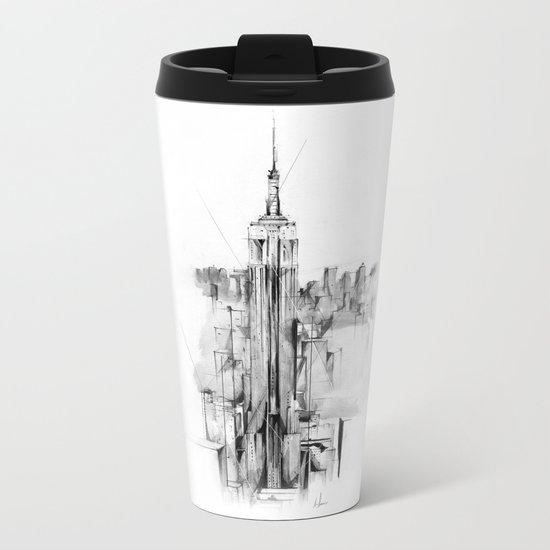 Metro Metal Travel Mug