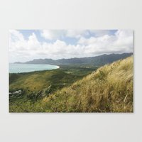 hawaii Canvas Prints featuring Hawaii by Kakel-photography