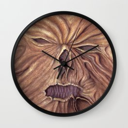 Necronomicon - Ash Vs. Evil Dead (Watercolor Painting) Wall Clock