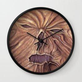 Necronomicon - Ash Vs. Evil Dead (Watercolor Painting) Wall Clock