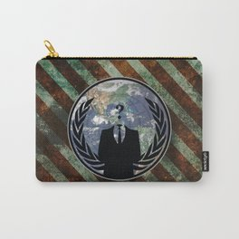 World Wide Anonymous Carry-All Pouch