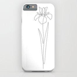 Dear Iris iPhone Case