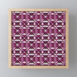 Fabolous Diamond Pattern C Framed Mini Art Print