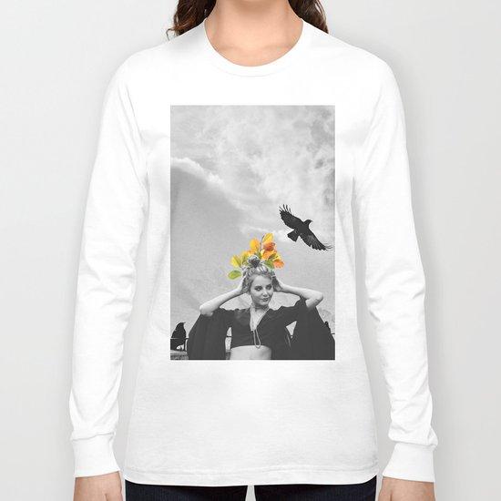 CROW GIRL Long Sleeve T-shirt