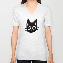 Black Kittens Unisex V-Neck