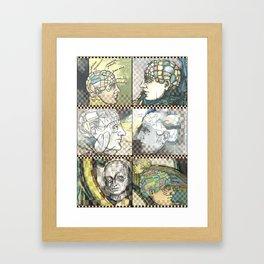 Phrenology - by Fanitsa Petrou Framed Art Print