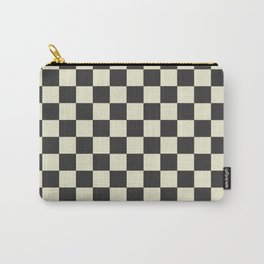 black chess - black and white Carry-All Pouch