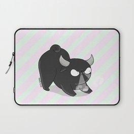 Taurus pug - pugzodiac Laptop Sleeve