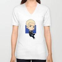 lv V-neck T-shirts featuring LV Zayn by Naty Amity