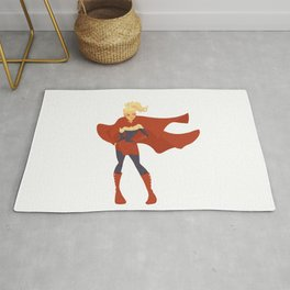 Captain Marvel Rug