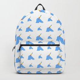 unicorn 2- blue Backpack