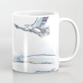 Flying Eagle, Hudson Valley (horizontal) Coffee Mug