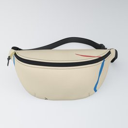Line in nude Fanny Pack