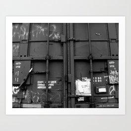 BW23 Compartment Art Print