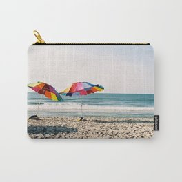 Beach Umbrellas on Film Carry-All Pouch