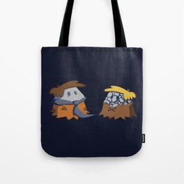 Flint and Rubble Tote Bag