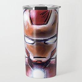 Iron Man - Chibi Anime Style Travel Mug