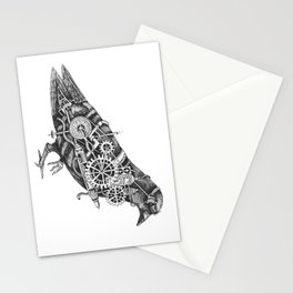 Roly the Steampunk Pigeon Stationery Cards