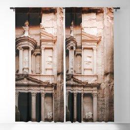 The Treasury (Al Khazneh) Photo   Jordan Petra Travel Photography   Treasury In Petra  Blackout Curtain