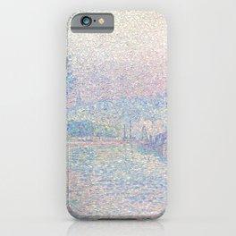 "Paul Signac ""Samois, La Berge, matin"" iPhone Case"