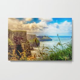 Cliffs of Moher (2) Metal Print