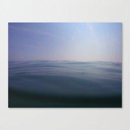Silk Waves Canvas Print