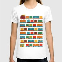train T-shirts featuring Train by Kakel