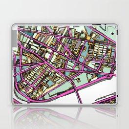 Abstract Map - Cambridge MA Laptop & iPad Skin
