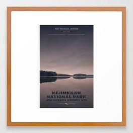 Kejimkujik National Park Framed Art Print