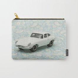 Vintage 1961 Jaguar Type E Matchbox Carry-All Pouch