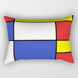 Abstract #758 Rectangular Pillow