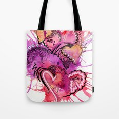 Six Valentines Tote Bag