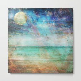 Beach Lapis Metal Print