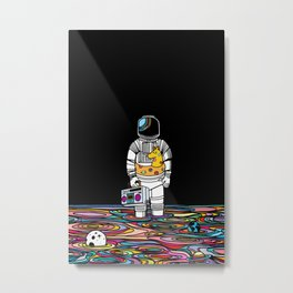 Space oddity Metal Print