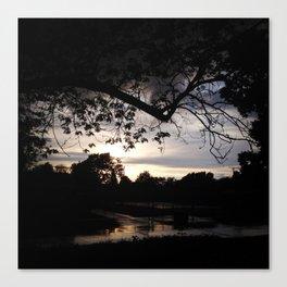 Grey Skys Canvas Print