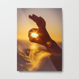 Everything's OK in the Summer Metal Print