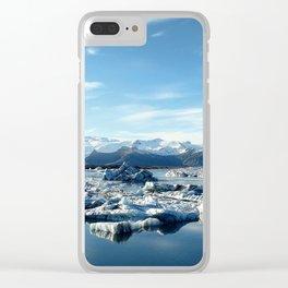 Jökulsárlón, Iceland Clear iPhone Case