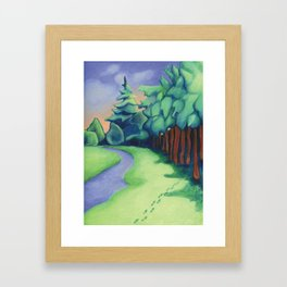 Later Framed Art Print