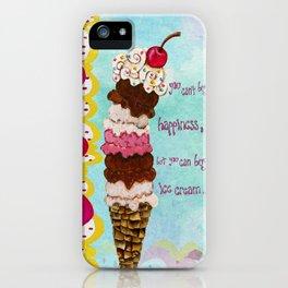 Ice Cream Happiness iPhone Case