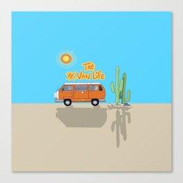 The Van Life (Desert Vers.) Canvas Print