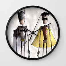 Teamwork Wall Clock