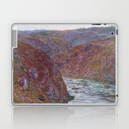 Valley of the Creuse (Gray Day) Laptop & iPad Skin