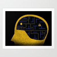Brain Games Art Print