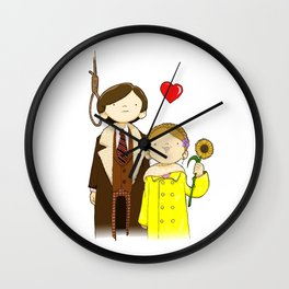 If you want to sing out, sing out Wall Clock